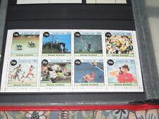Davaar Islands, Scotland A Mini Sheet, Blocks and Stamps