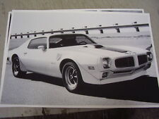 1971  PONTIAC  FIREBIRD TRANS AM   12 X 18  LARGE PICTURE  PHOTO