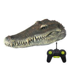 Flytec V005 RC Boat 2.4G Simulation Crocodile Head Animal Decoration Pool Toys