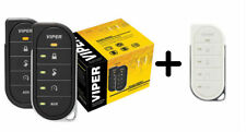 Viper 4806V 2 Way Led Remote Start System 1 Mi Range & Replacement White Case