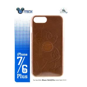 Mickey Mouse 6s+ 7+ 6+ Plus iPhone Case LEATHER Disney Park Authentic D-Tech