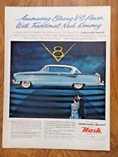 1956 AMC Rambler Nash Ambassador Special Ad