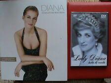 lady diana princess diana storia di una principessa libro nuovo 240 pagine dvd