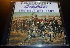 "FELIX SLATKIN ""Charge!/The Military Band"" (CD 1991) Light Brigade **VERY GOOD**"