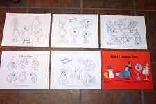 Secret Squirrel Show Animators' Model Sheets Hanna Barbera Art Reference Guide