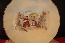 "Royal Doulton, Historic England, "" Dr. Johnson at Temple Bar"" Plate[DL8]"