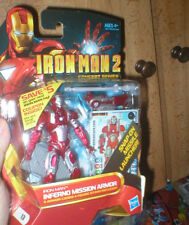 INFERNO MISSION ARMOR IRON MAN FROM IRON MAN 2 CONCEPT SERIES, NEVER OPENED