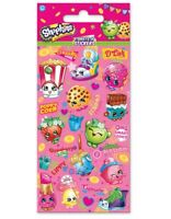 Shopkins Party Stickers 6 Sheet pack Official licensed product