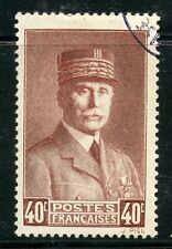 STAMP / TIMBRE FRANCE OBLITERE N° 470 / CELEBRITE / PETAIN
