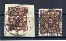 Dr - Service Government Wiesbaden 14I P+W Impeccable Postmarked BPP (B8904