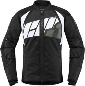Icon Women's AUTOMAG 2 Textile Riding Jacket (Grey) Choose Size