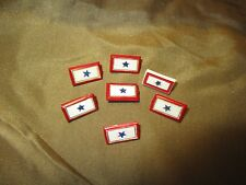 """One WW2 U.S. Home Front """"Son in Service"""" Plastic Lapel Device from Original Lot"""