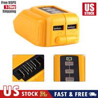 12V/20V Max USB Power Source for DEWALT CB090 Cordless Phone USB Charger US Sell