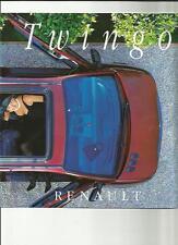 Renault Twingo, Twingo 'pack' y Twingo fácil folleto de auto 1996 Lengua Francesa