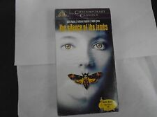 THE SILENCE OF THE LAMBS, JODIE FOSTER ANTH0NY HOPKINS NEW VHS