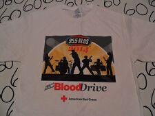 Medium- KLOS Blood Drive T- Shirt