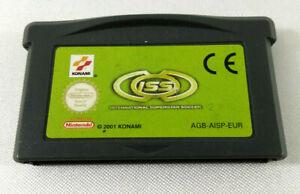 Jeu Game Boy Advance GBA en loose ISS International Super Soccer EUR Envoi suivi