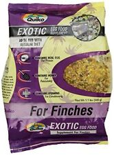 Quiko Exotic Egg Food Supplement for Finches 1.1 lb. Pouch