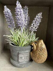 🦔Hedgehog Pot Hanger House Plant Pal Hanging Animal Vase Gold Ornament Gift New