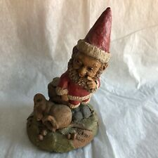 Tom Clark Tim Wolfe Signed Edition 33 'Shhh!' Santa Gnome Sleeping Mouse
