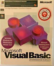 COMPLETE Microsoft Visual Basic 5.0 Professional Edition Retail Workstation