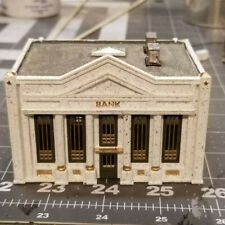 HO Scale Bank building kit