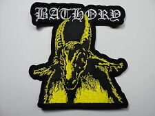 BATHORY YELLOW GOAT        EMBROIDERED PATCH