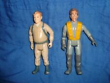 Vintage Ghostbusters 1984 Ray & 1987 Peter Figure Assorted Lot 2 pcs
