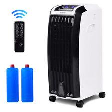 Evaporative Portable Air Conditioner Cooler Fan Anion Humidify W/ Remote Control