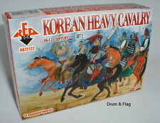 REDBOX 72122 Korean Heavy Cavalry Set 2 16th-17th C. 1/72 scale plastic figures.