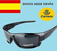 d63499ed9b Gafas de sol Polarizadas Deportivas diseño mujer hombre moda actual joven  negro