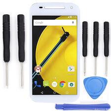 White LCD Screen Touch Digitizer + Tools  For Motorola Moto E2 Gen XT1526 XT1524