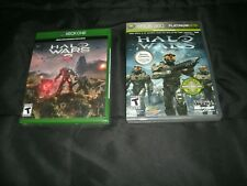 Halo Wars And DLC(Xbox 360) And Halo Wars 2 (Xbox One, Brand New Factory Sealed)