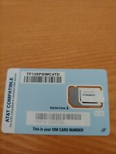 Straight Talk At&T Bring Your Own Phone Sim Card Gsm micro nano standard att