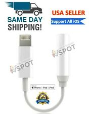 Lightning to 3.5mm Headphone Jack Adapter cord dongle iPhone 7 8 PLUS X XR XS 11