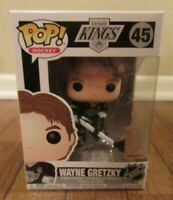 Funko Pop! Hockey Los Angeles Kings #45 Wayne Gretzky Vinyl Figure New NIB