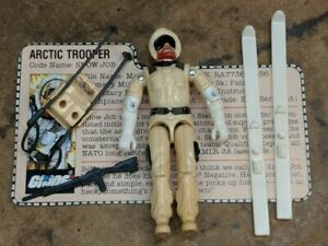 1983 snow job V1 GI Joe action figure 3.75 Hasbro, all joints tight, complete