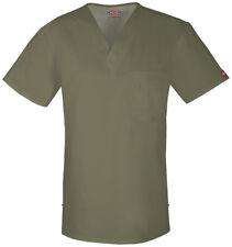 {MED} Dickies Medical Uniform Scrub Top Evolution NXT Men's V-neck SAWZ 81800