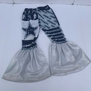 Little Southern Swag Dallas Cowboys Pants Bell Bottoms 3T Football NFL Toddler