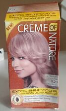 Creme Of Nature Exotic Shine Color With Argan Oil 9.23 Light Golden Blonde OPEN