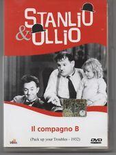 STANLIO & OLLIO - IL COMPAGNO B  - DVD    8033100650174
