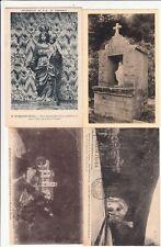 Lot 4 cartes postales anciennes DRÔME MARSANNE Fresneau 1