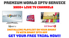 12 Months Smart IPTV for Samsung, LG & Sony Android Smart TV's