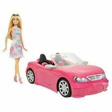 Barbie 19 x 35,6 x 18,4 cm Bambola con Macchina Rosa (FPR57)