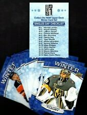 18-19 Upper Deck Singles Day Bounty Unscratched Winter~Full Set of 16  2018-19