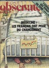 Le Nouvel Observateur   N°890   28 Novembre Au 4 Decembre 1981: Medecine / les f