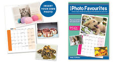3 x Make Your Own Personalised A4 Photo Calendar 2019 Add Pictures Gift YPP19