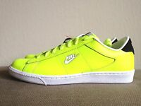 New DS Nike x Supreme Tennis Classic SB Volt Green Black Snakeskin men sz 9.5