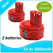 2x Batterie pour Makita 3.0AH 1434 1435 1435F 192699-A Ni-MH 6280D 6933FD 8280D