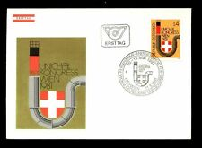 Austria 1981 de larga distancia Calor Distribuidores Fdc #c 2765